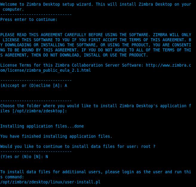 Zimbra Desktop for Ubuntu / Zorine – ::::: YOGILINUX :::::